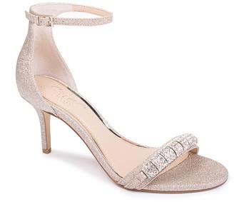 Badgley Mischka Randy Embellished Sandal