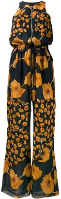 Paul Smith floral print zipped jumpsuit