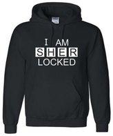 Fandom Clothing I Am Sherlocked Sherlock Holmes Inspired Hoodie Sweatshirt Hoodie