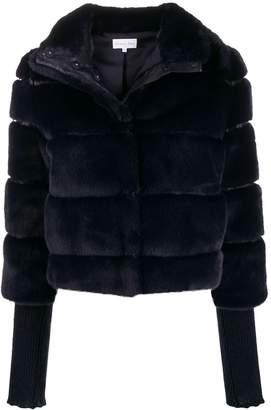 Patrizia Pepe faux-fur bomber jacket