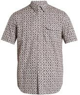 Maison Margiela Arabesque-print short-sleeved shirt