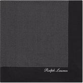 Ralph Lauren Purple Label Pin Dot Silk Pocket Square