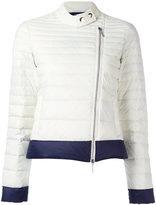 Armani Jeans zip up puffer jacket - women - Polyamide/Duck Feathers - 42
