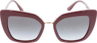 Dolce & Gabbana Bordeaux Devotion Sunglasses