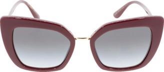 Dolce & Gabbana Bordeaux Devotion Sunglasses
