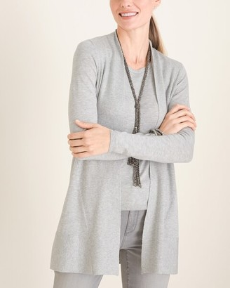 Chico's Rib-Mix Cardigan