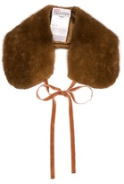 RED Valentino Fur collar
