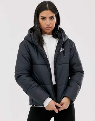 Nike black padded jacket