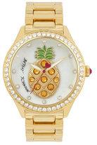 Betsey Johnson Playful Pineapple Watch