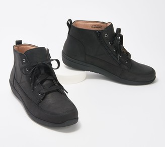 Women Wide With High Top Sneakers