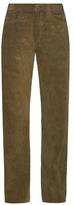 Simon Miller Bowman wide-leg suede trousers