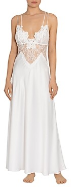 Jonquil Satin Lace Nightgown