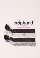 Missguided Popband 4 Pack Hair Ties SuperStar