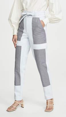 Bohemia Alix of Patchwork Chore Jeans