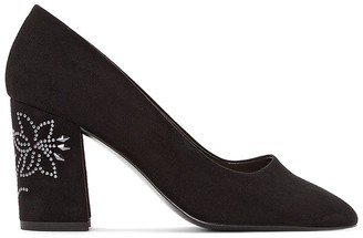 La Redoute Collections High Heels with Diamante Design