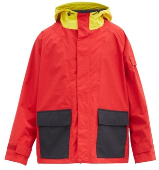 J.W.Anderson Colour-block Shell Parka - Red