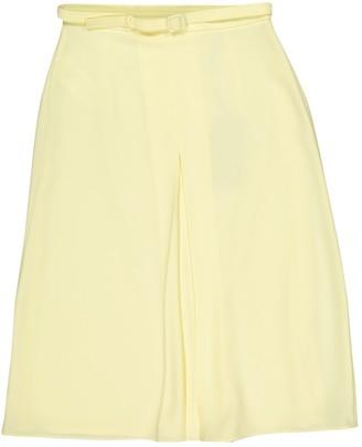 Gucci Yellow Skirt for Women