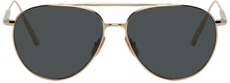 Byredo Gold The Certified Pilot Sunglasses
