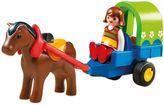 Playmobil 1.2.3 Pony with Wagon