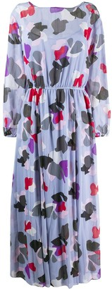 Emporio Armani printed maxi dress