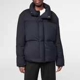 Paul Smith Women's Navy Down-Filled Travel Bomber Jacket