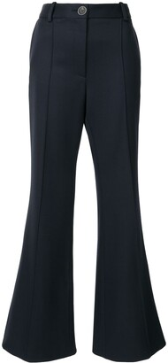 Peter Do High-Waisted Cropped Wool Trousers
