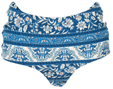 Somedays Lovin Indigo Wind Cross Back Bikini Bottoms