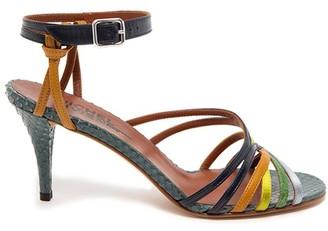 Michel Vivien Leen sandals
