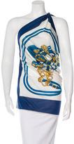 Hermes Brides De Gala Silk Halter Top
