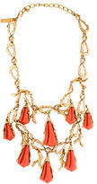 Oscar de la Renta Multistrand Sea Necklace