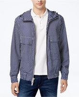 Michael Kors Men's Dot-Print Raincoat
