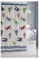 kassatex bambini in flight shower curtain