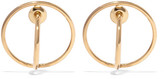 Charlotte Chesnais Saturn Gold-dipped Earrings - one size
