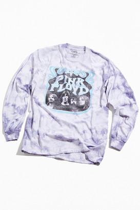 Urban Outfitters Pink Floyd Tie-Dye Long Sleeve Tee