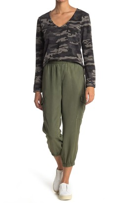 Sanctuary Cargo Pocket Cropped Joggers