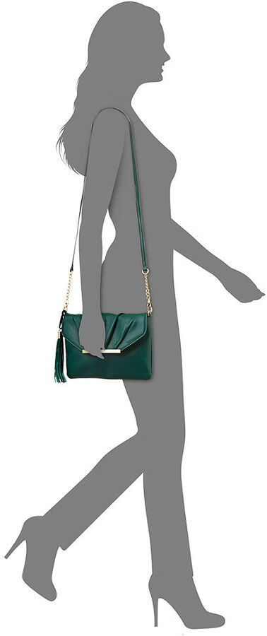 INC International Concepts INC Bianca Leather Clutch