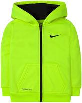 Nike Dri-FIT Long-Sleeve Full-Zip Hoodie - Toddler Boys 2t-4t