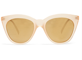 Le Specs Halfmoon cat-eye sunglasses
