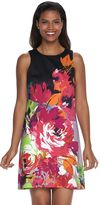Dana Buchman Women's Floral Shift Dress