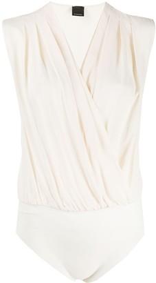 Pinko Sleeveless Wrap Style Body