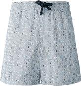 Fashion Clinic Timeless - geometric print swim shorts - men - Nylon/Polyester - S