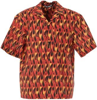 Palm Angels Flame Printed Shirt