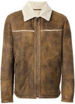 Drome fur collar jacket