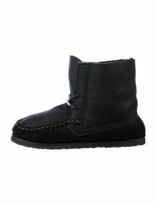 Isabel Marant Suede Boots Black