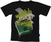 Charlie Rocket Boombox Tee (Toddler/Kid) - Black-2T
