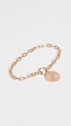 Sunbeam Zoe Chicco 14k Medallion Charm Bracelet