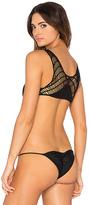 Bettinis Crochet Back Bikini Top