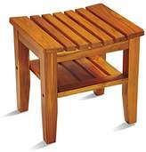 Conair Home Solid Teak Spa Bench;