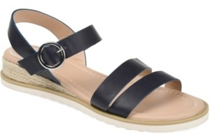 Journee Collection Women's Nikki Wedge Sandal Women's Shoes