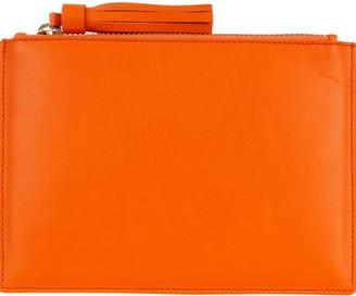 Noble Macmillan Mini Tassel Pouch Tangerine